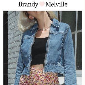 Brandy Melville Karina Denim Jacket